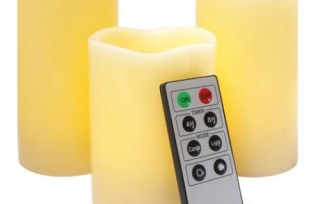 Remote Control Candle Set (3 Pack)