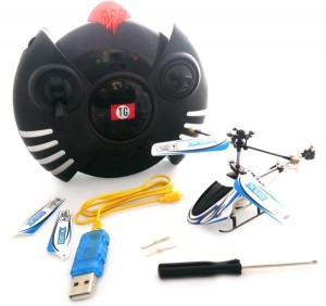 Mini Remote Control Helicopter - RC Gyro Zoomer
